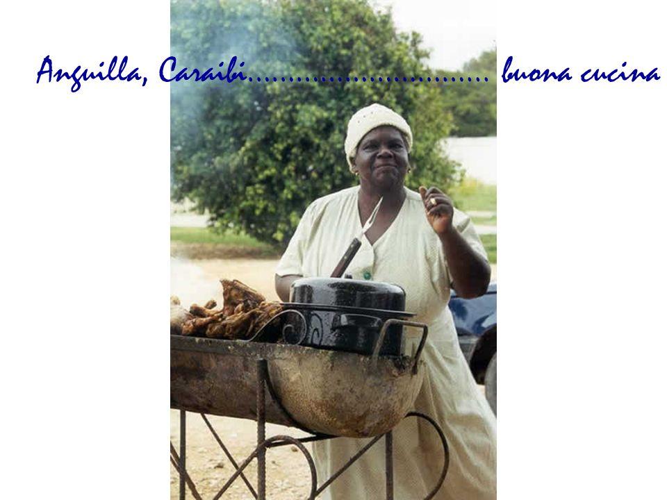 Anguilla, Caraibi………………………... buona cucina
