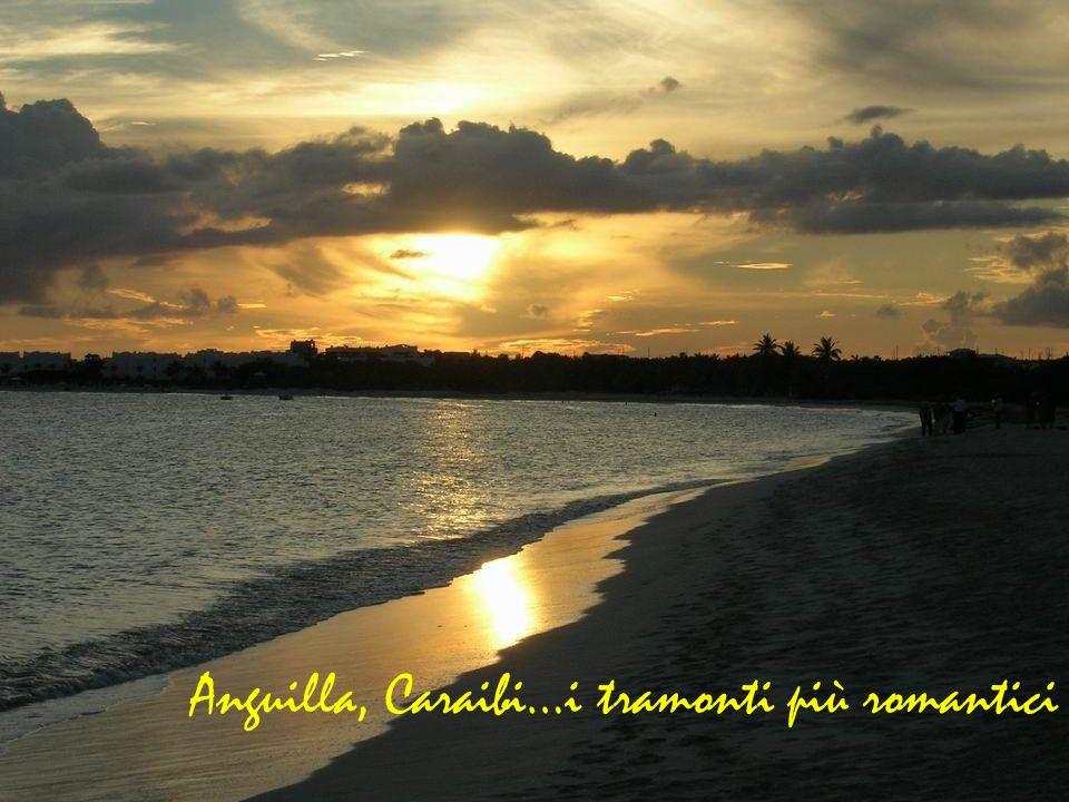 Anguilla, Caraibi…i tramonti più romantici