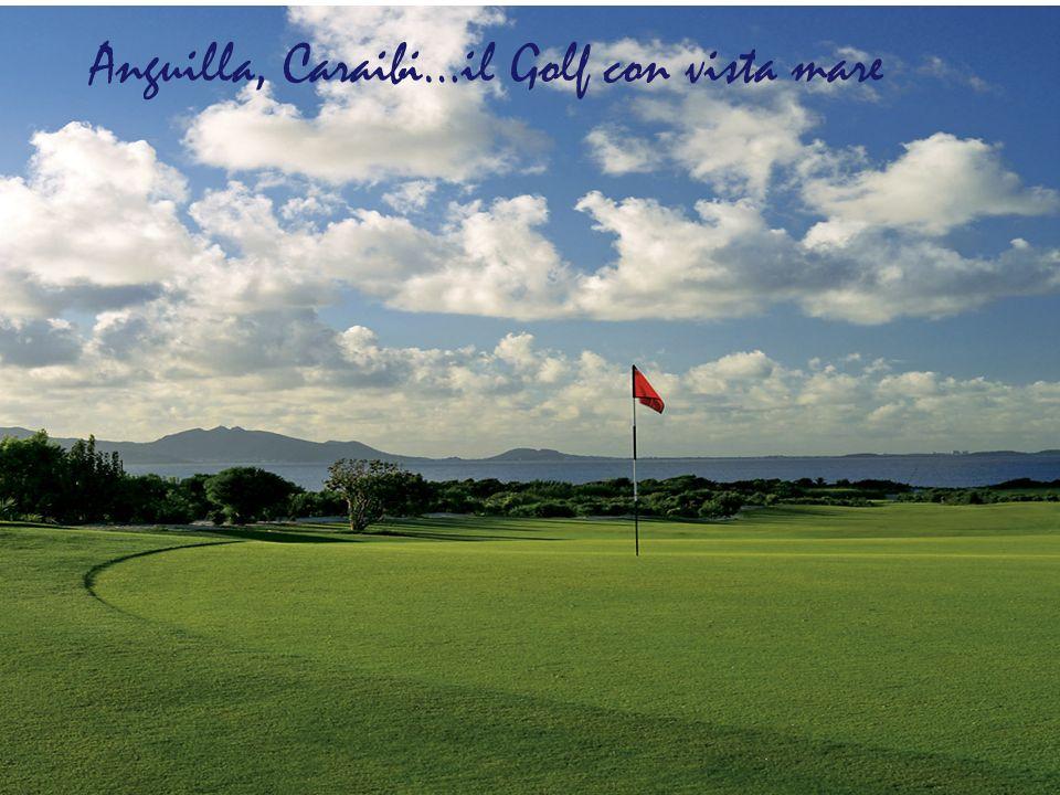 Anguilla, Caraibi…il Golf con vista mare