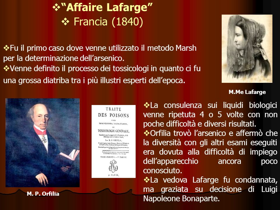 Affaire Lafarge Francia (1840)