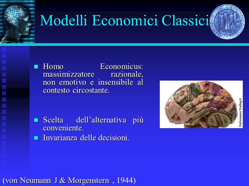 Modelli Economici Classici