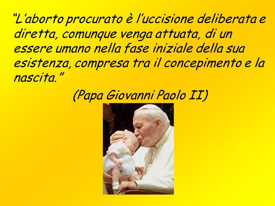 (Papa Giovanni Paolo II)