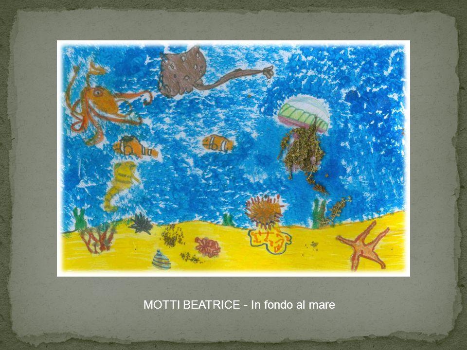 MOTTI BEATRICE - In fondo al mare