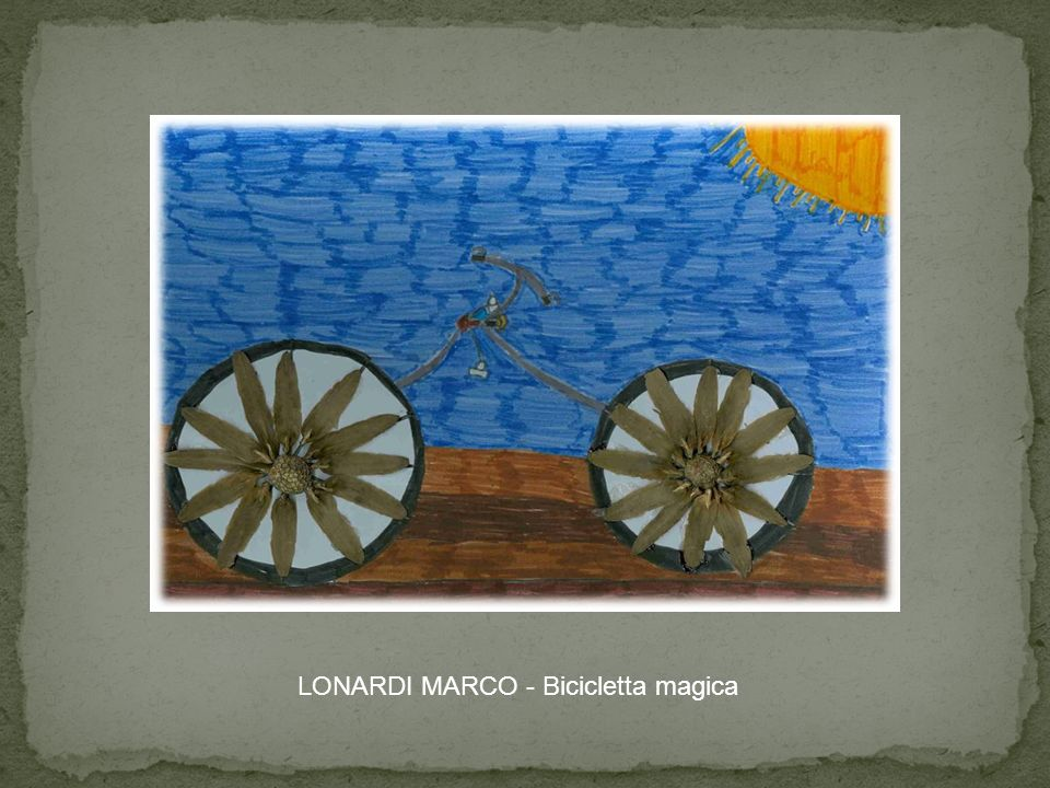 LONARDI MARCO - Bicicletta magica
