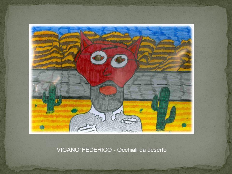 VIGANO FEDERICO - Occhiali da deserto