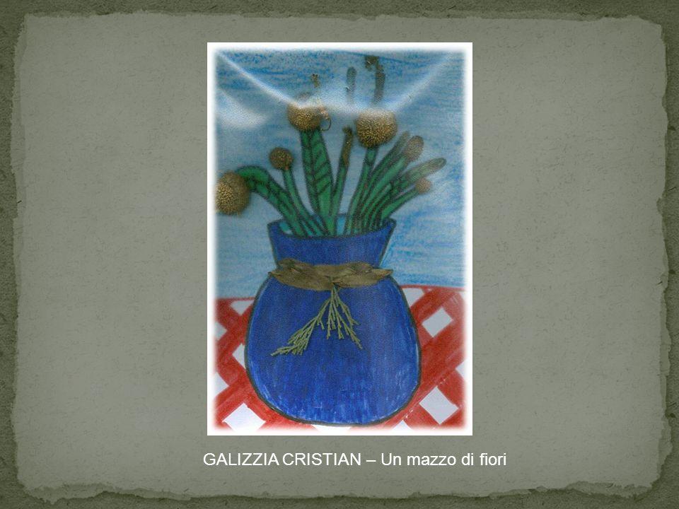 GALIZZIA CRISTIAN – Un mazzo di fiori