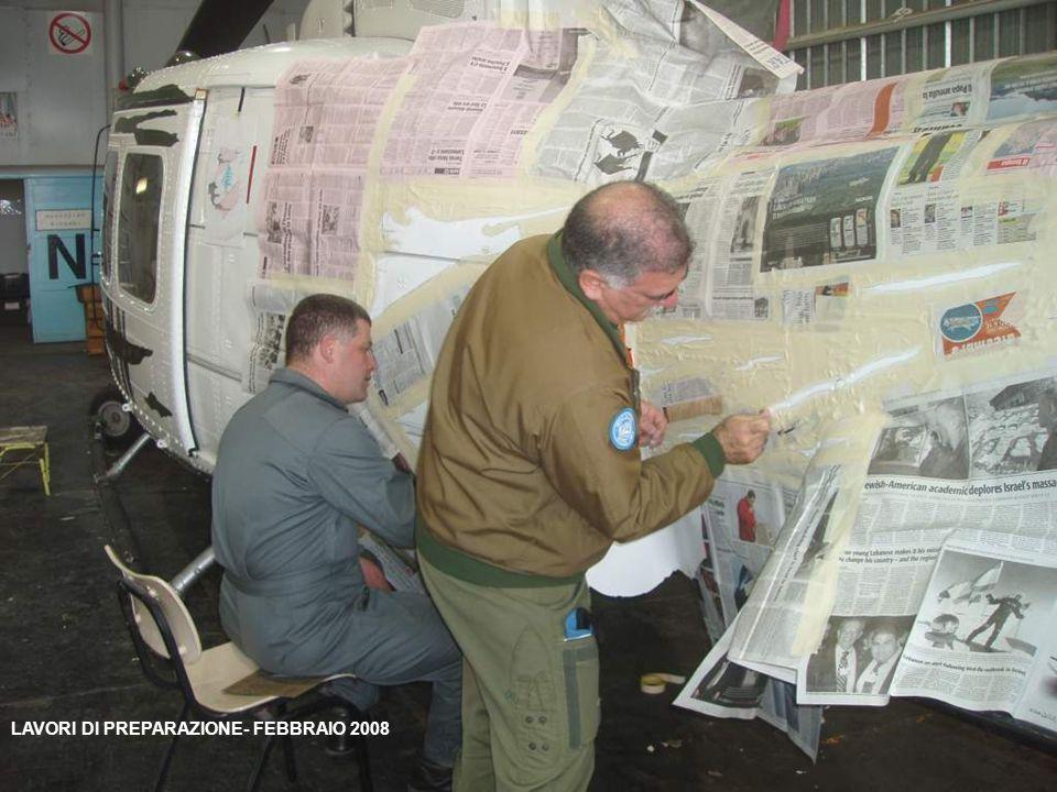 LAVORI DI PREPARAZIONE- FEBBRAIO 2008