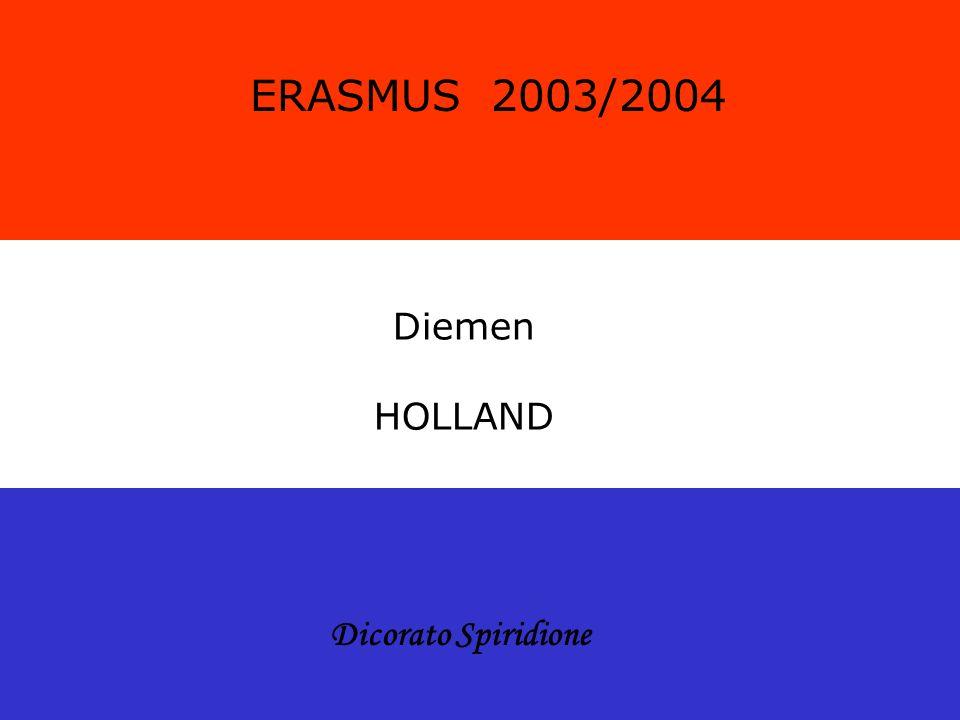 ERASMUS 2003/2004 Diemen HOLLAND Dicorato Spiridione