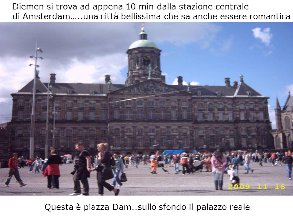 Diemen si trova ad appena 10 min dalla stazione centrale