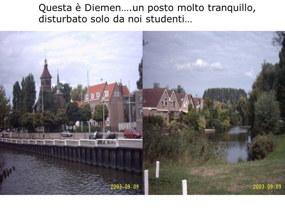 Questa è Diemen….un posto molto tranquillo,