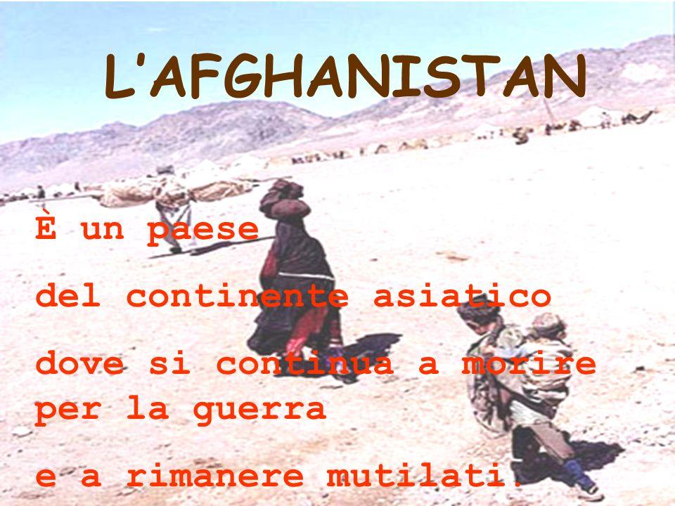 L'AFGHANISTAN È un paese del continente asiatico
