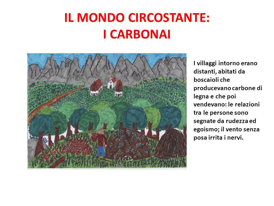 IL MONDO CIRCOSTANTE: I CARBONAI