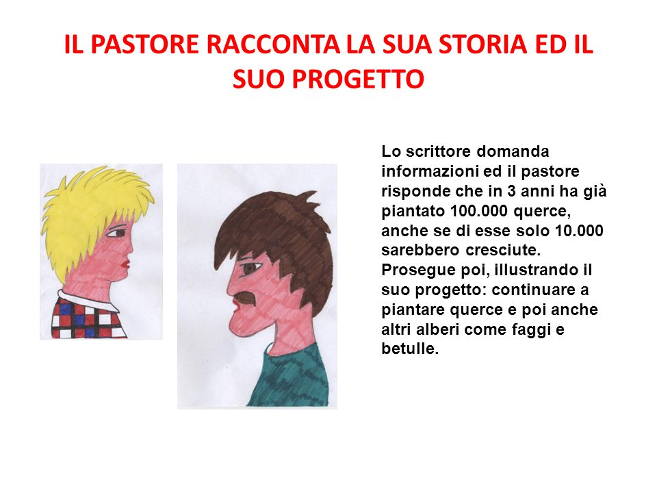 IL PASTORE RACCONTA LA SUA STORIA ED IL SUO PROGETTO