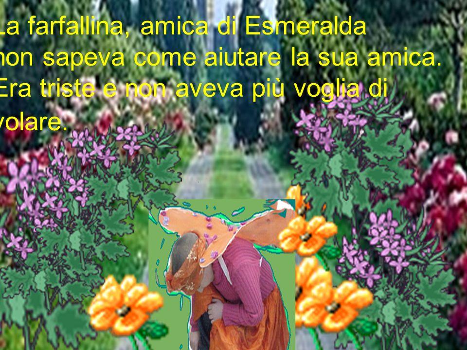 La farfallina, amica di Esmeralda