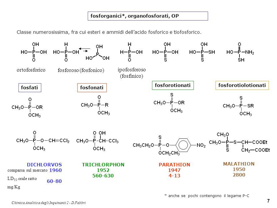 fosforoso (fosfonico) ipofosforoso (fosfinico)