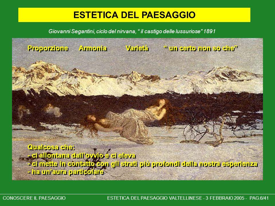 ESTETICA DEL PAESAGGIO
