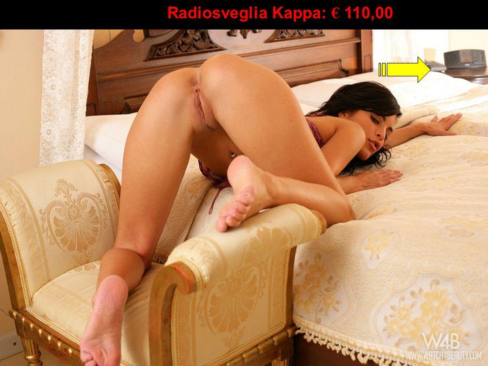 Radiosveglia Kappa: € 110,00