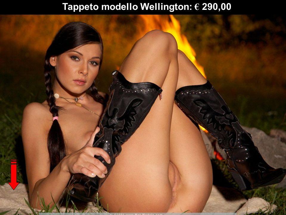 Tappeto modello Wellington: € 290,00
