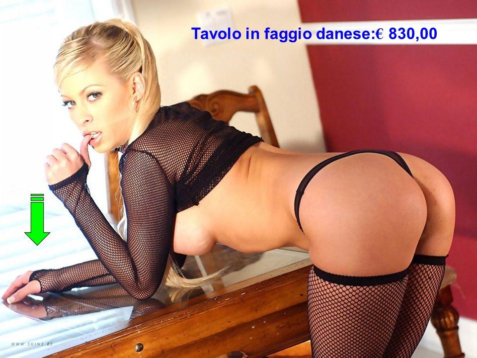 Tavolo in faggio danese:€ 830,00