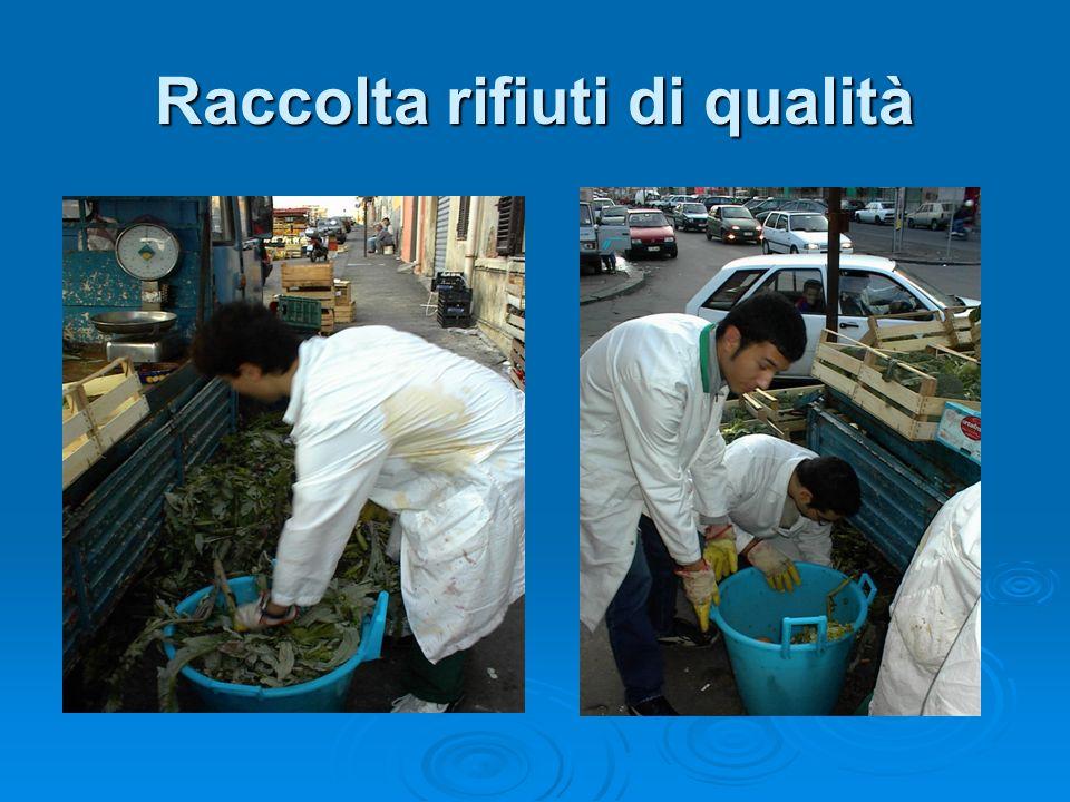 Raccolta rifiuti di qualità