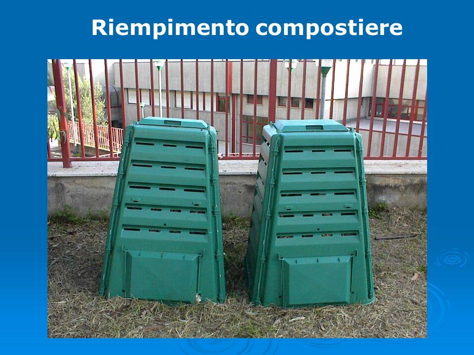 Riempimento compostiere