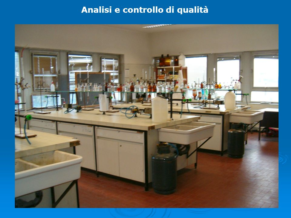 Analisi e controllo di qualità