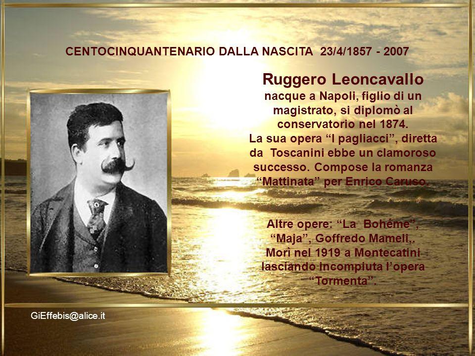 LO Ruggero Leoncavallo