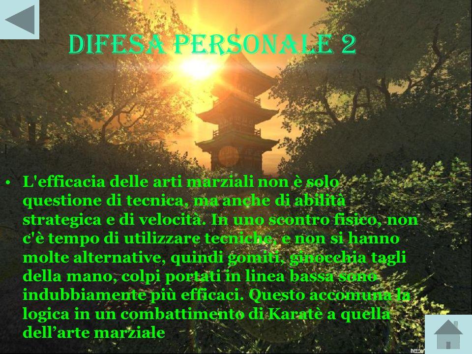 DIFESA PERSONALE 2