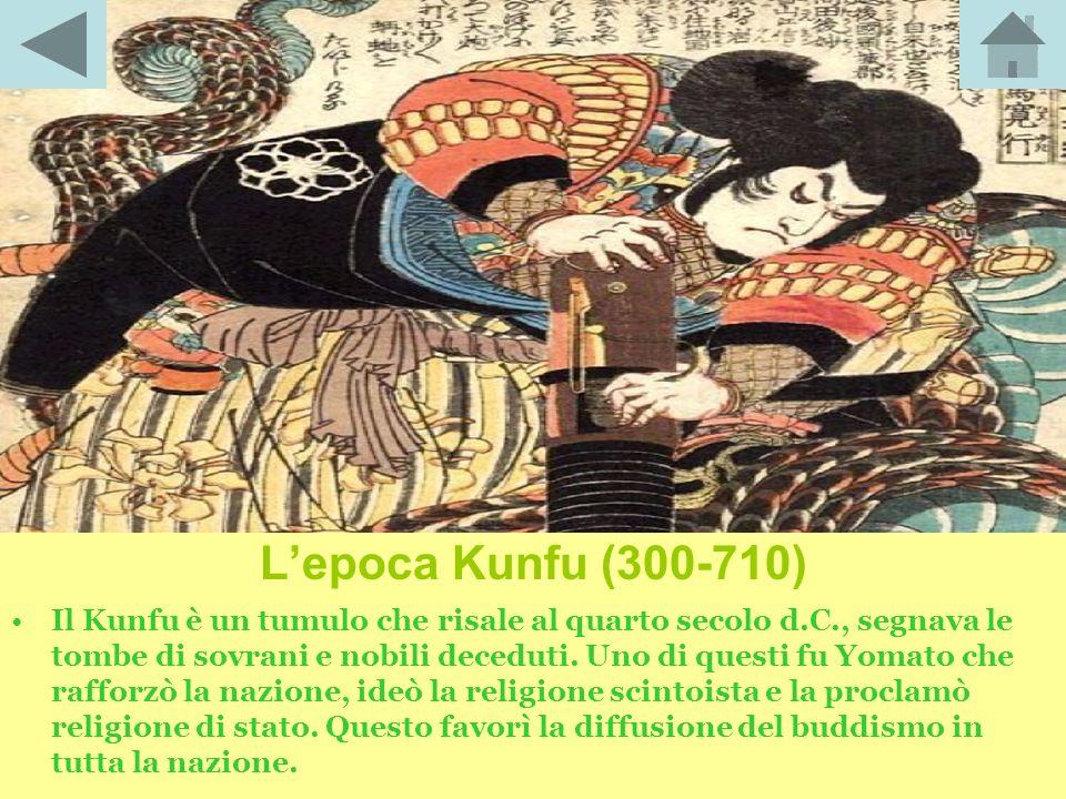 L'epoca Kunfu (300-710)