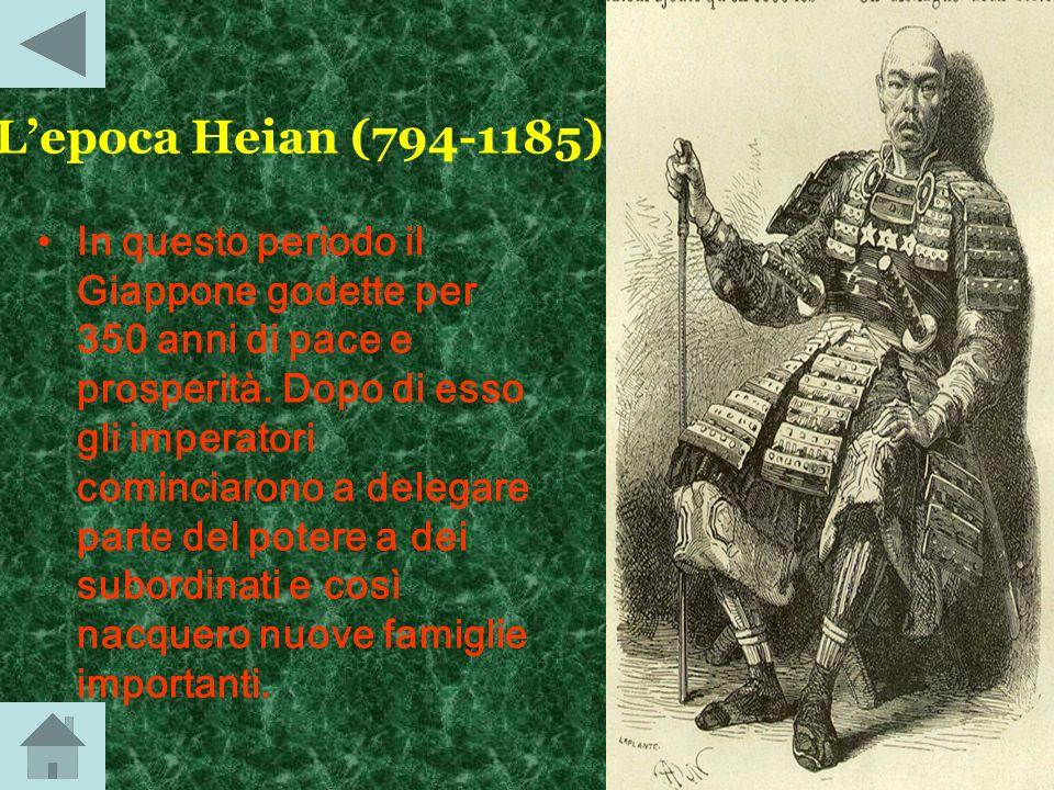 L'epoca Heian (794-1185)