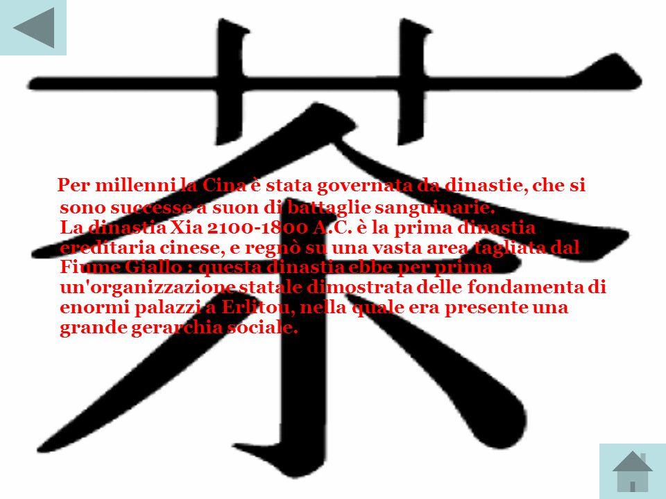 Per millenni la Cina è stata governata da dinastie, che si sono successe a suon di battaglie sanguinarie.