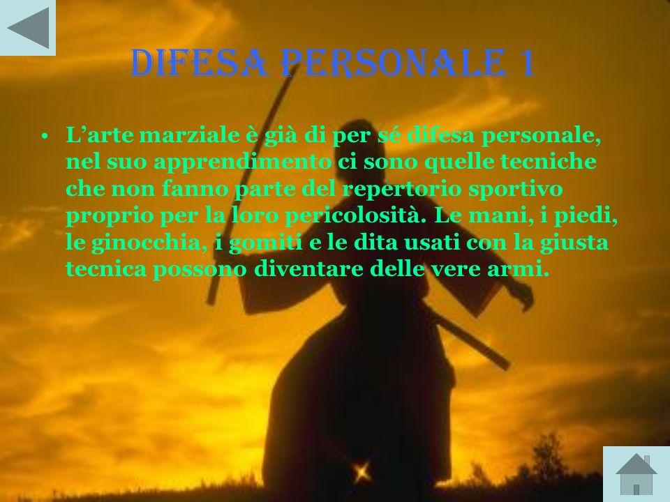 DIFESA PERSONALE 1