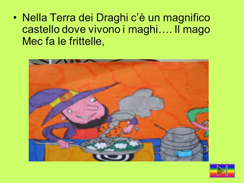 Nella Terra dei Draghi c'è un magnifico castello dove vivono i maghi…