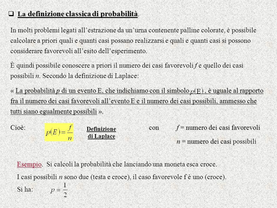 Definizione di Laplace