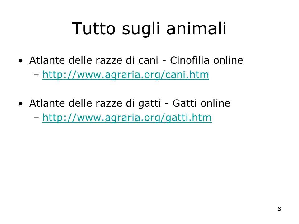Tutto sugli animali Atlante delle razze di cani - Cinofilia online