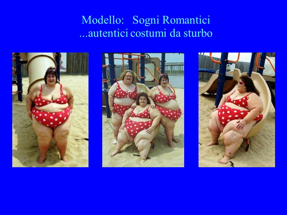 Modello: Sogni Romantici ...autentici costumi da sturbo