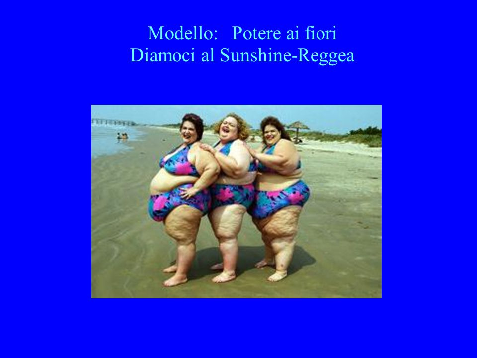 Modello: Potere ai fiori Diamoci al Sunshine-Reggea