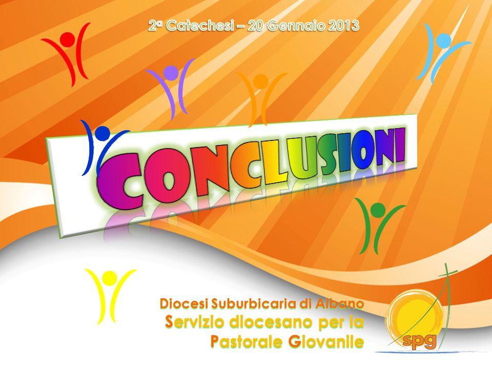 conclusioni Servizio diocesano per la Pastorale Giovanile