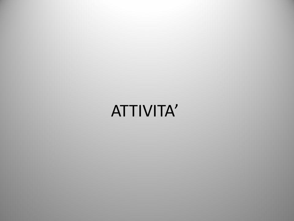 ATTIVITA'