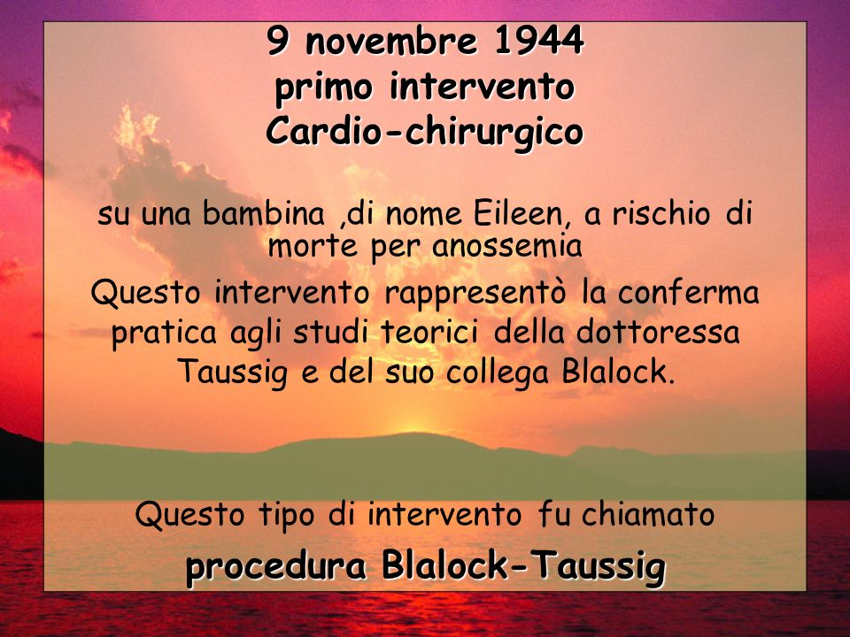 procedura Blalock-Taussig