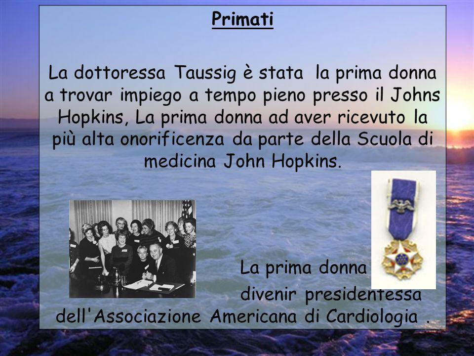 divenir presidentessa dell Associazione Americana di Cardiologia .