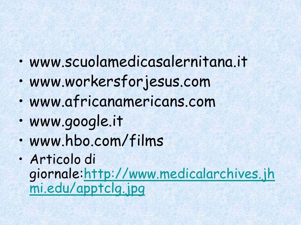 www.scuolamedicasalernitana.it www.workersforjesus.com