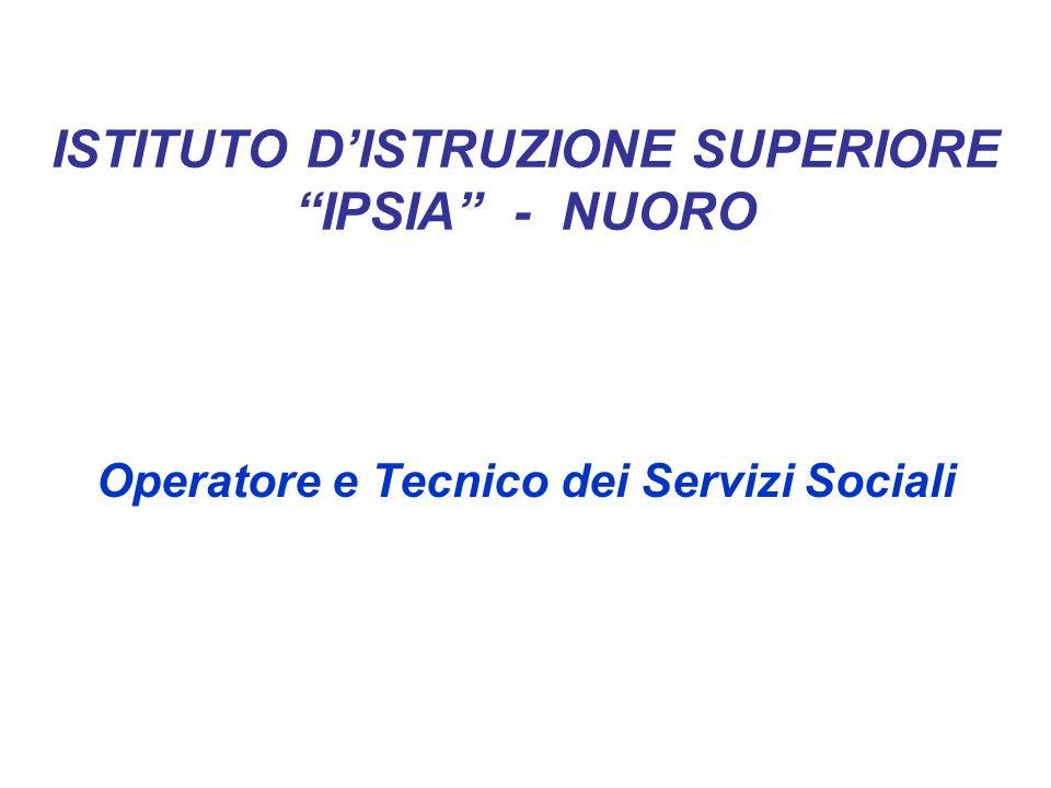 ISTITUTO D'ISTRUZIONE SUPERIORE IPSIA - NUORO
