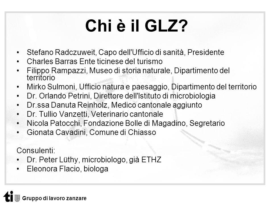 Chi è il GLZ Stefano Radczuweit, Capo dell Ufficio di sanità, Presidente. Charles Barras Ente ticinese del turismo.