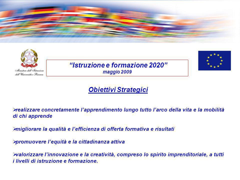 Istruzione e formazione 2020