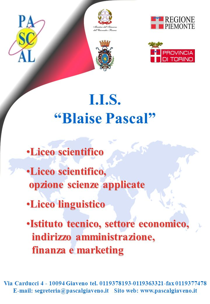 I.I.S. Blaise Pascal Liceo scientifico