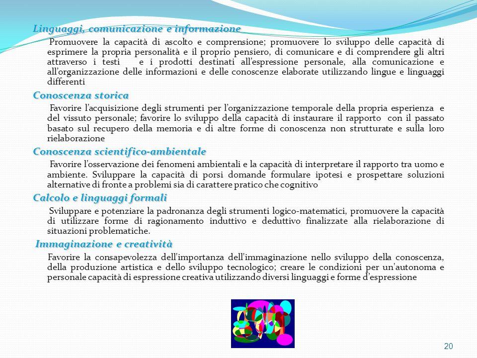 Linguaggi, comunicazione e informazione