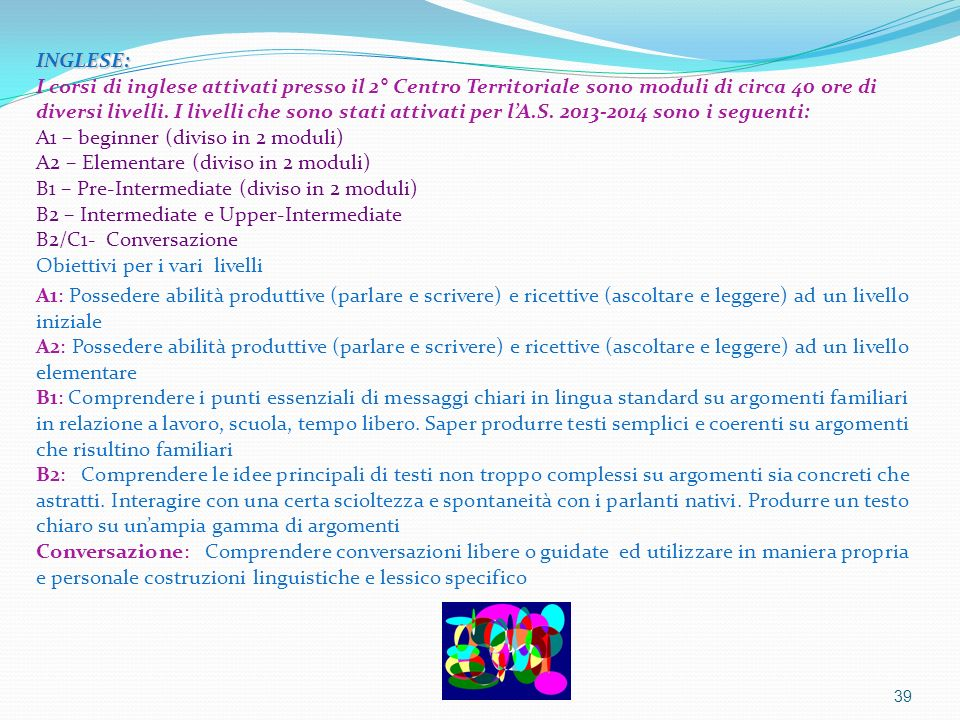 La scuola aperta a tutti artt 3 e 34 della for Idee di estensione a livello diviso