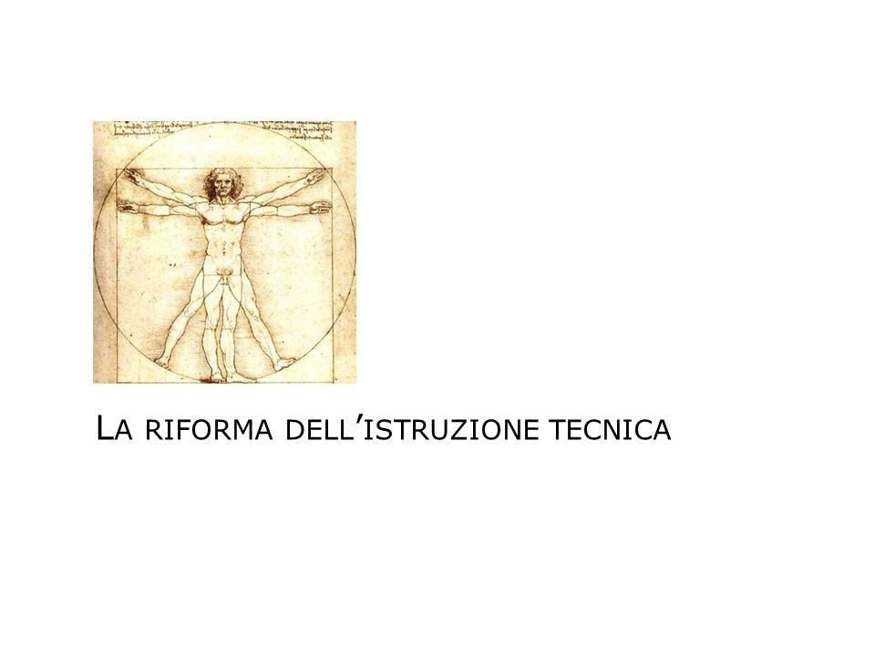 La riforma dell'istruzione tecnica