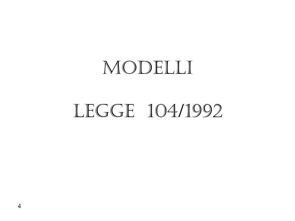 MODELLI LEGGE 104/1992 4